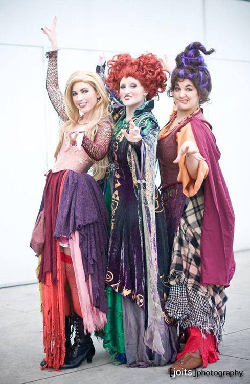 Hocus Pocus Costumes Click through for more! @Jody Goldberg - female halloween costume ideas