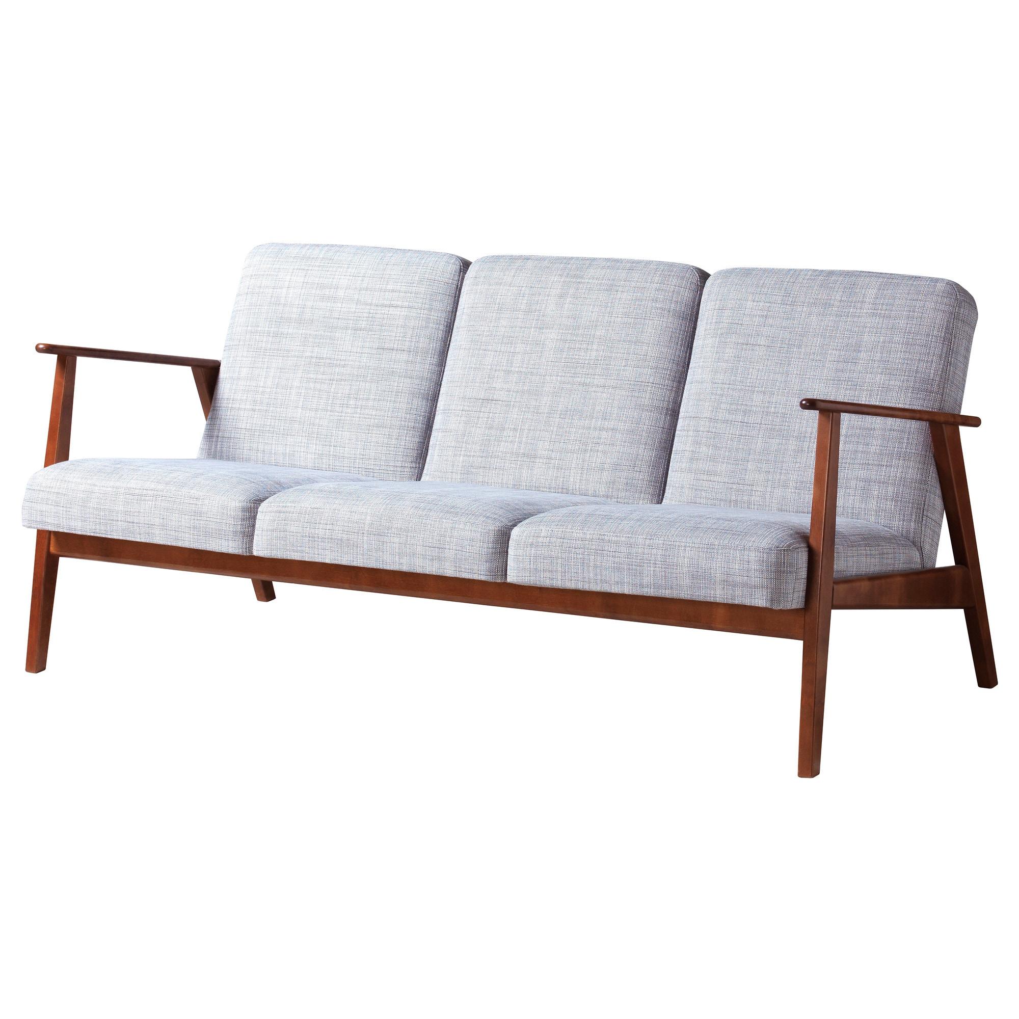 Ikea Holmsund Sofa Bed Nordvalla Medium Gray In 2020 Ikea Sofa
