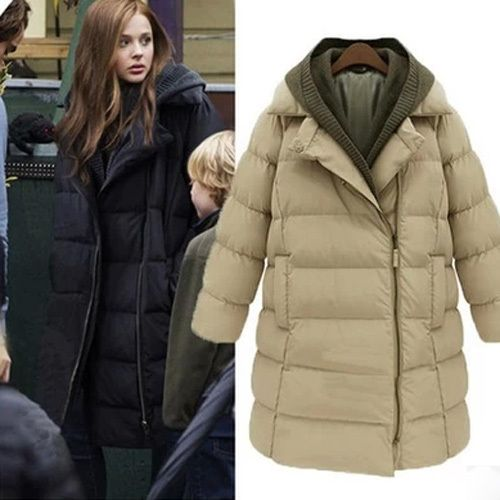 Womens Real Knitted Fur Coat Fashion Casual Medium Style New Outwear Parka
