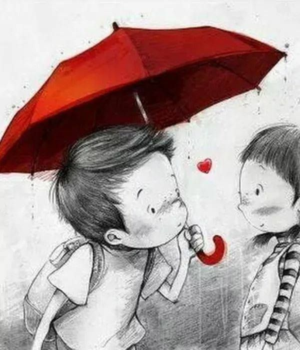 Pin By Elisabet Riera On Valentine S Day Umbrella Art Cute Art Art