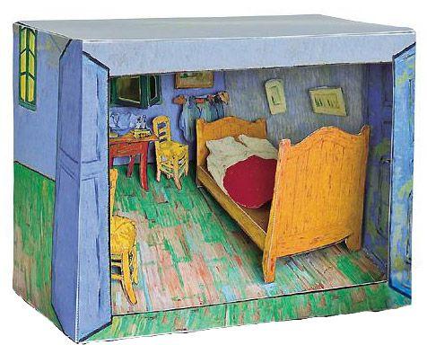 Mon Van Gogh en carton | Achat Déco & cuisine | Le Dindon