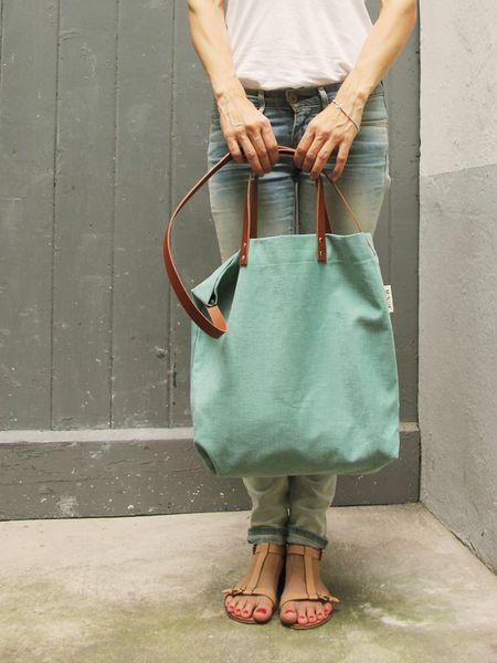 Tasche Elin, Canvas | MINUK, DaWanda | Fashion | Pinterest | Dawanda ...