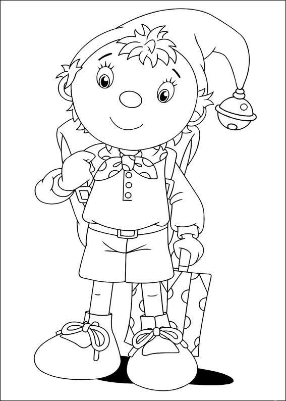 Dibujos para Colorear Noddy 5   Dibujos para colorear para niños ...