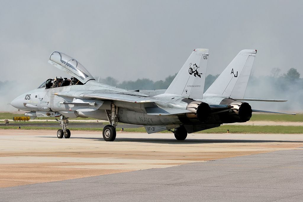 159619AJ-105 F-14D VF-31 'Tomcatters' NAS Oceana. | par Stuart Freer - Touchdown Aviation