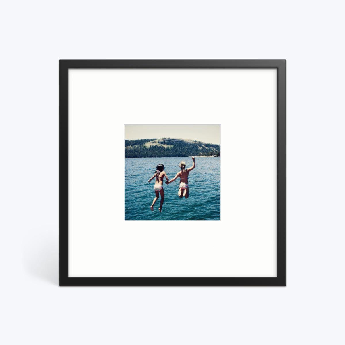 Single Photo Print   Mounted Framed Photo