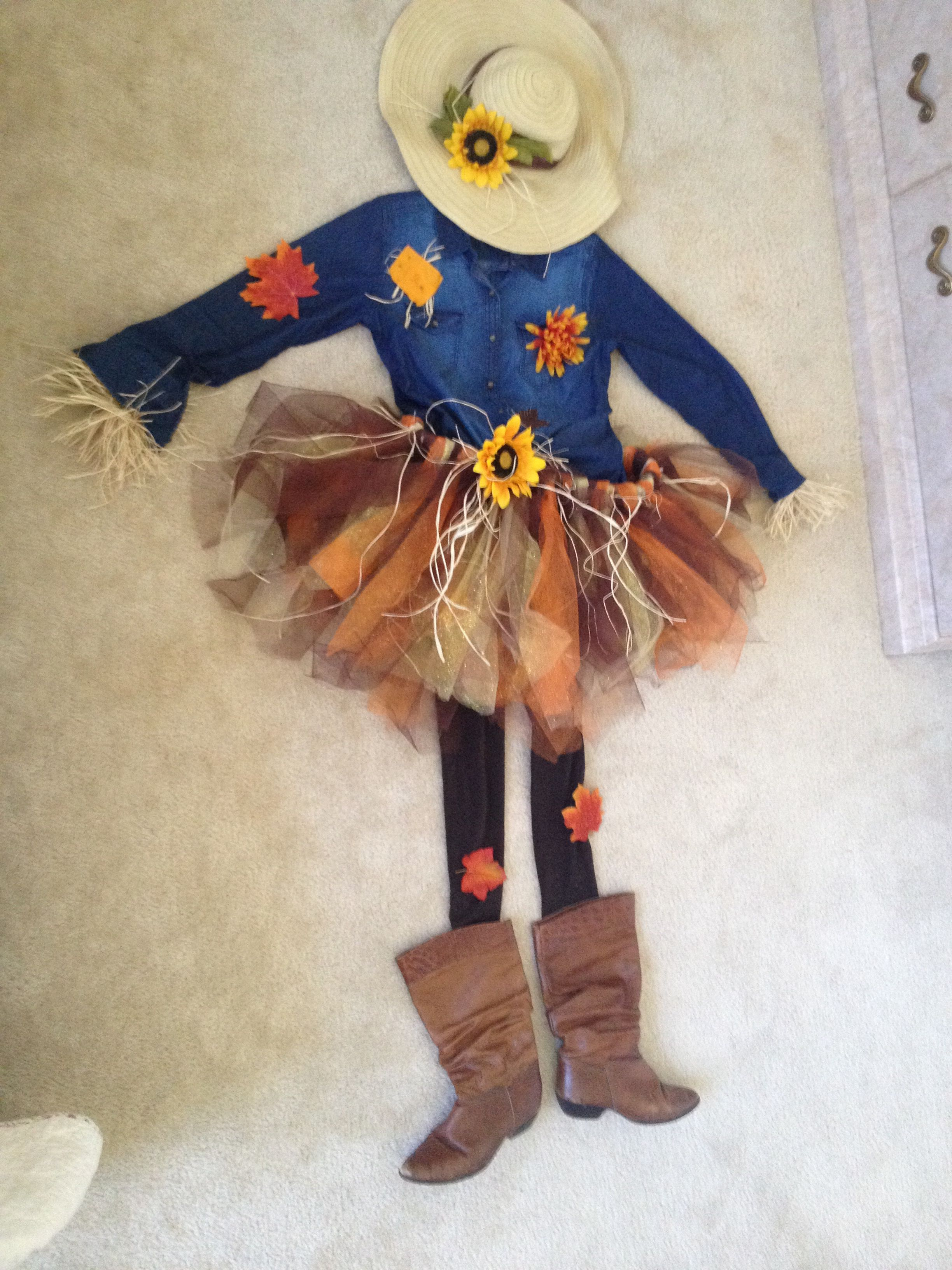 Scarecrow Easy Costume Girls