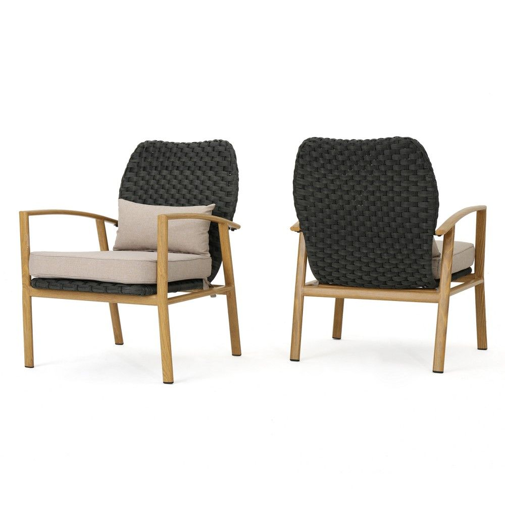 Patio Furniture San Luis Obispo: San Luis Set Of 2 Wicker Club Chair