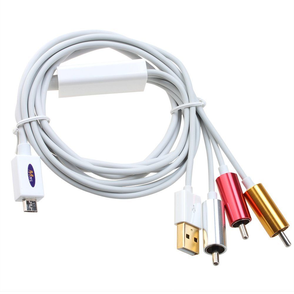Samsung Micro Usb To Rca Cable: MHL Micro USB to RCA HDTV Adapter AV Cable - White - 269rb rh:pinterest.com,Design