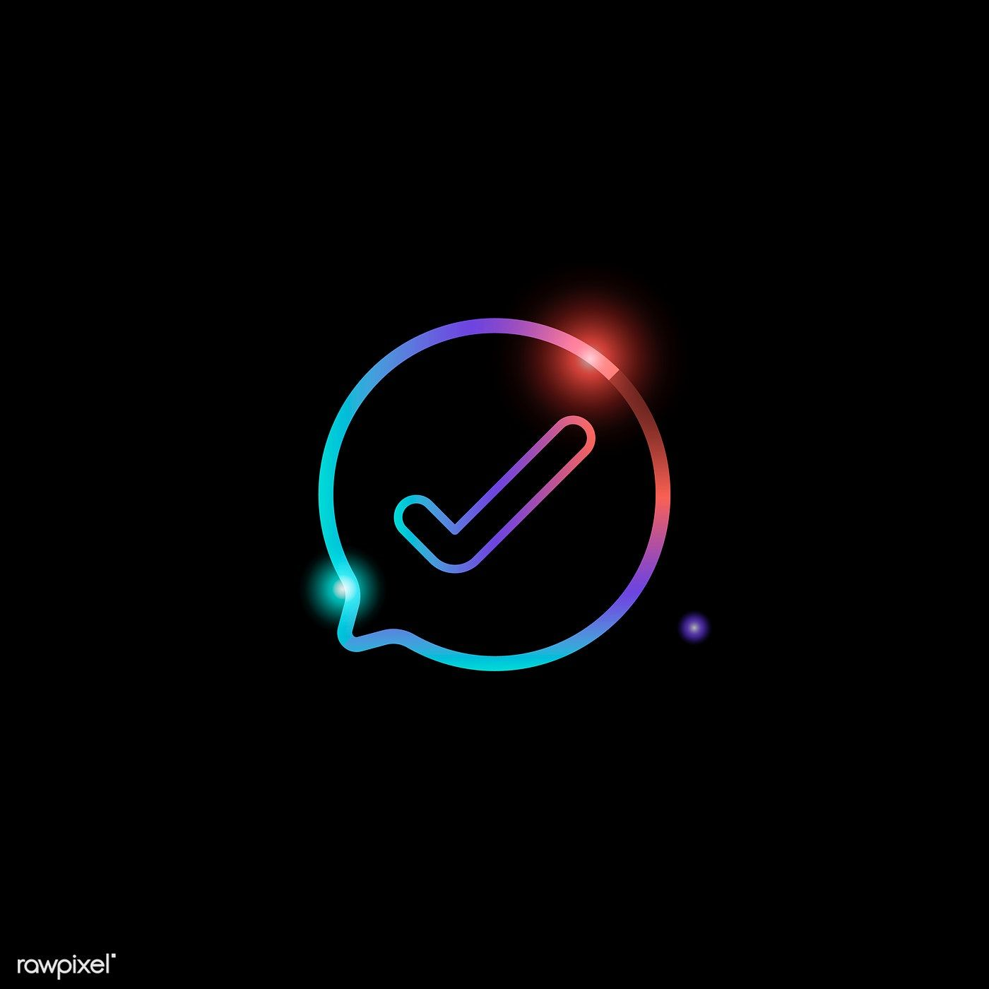 Check Mark Social Media Icon Vector Premium Image By Rawpixel Com Aew Social Media Icons Vector Social Media Icons Media Icon
