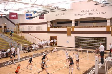 Lehigh Women S Volleyball Takes Wins In Games Against Bucknell And Colgate Women Volleyball Lehigh University Lehigh