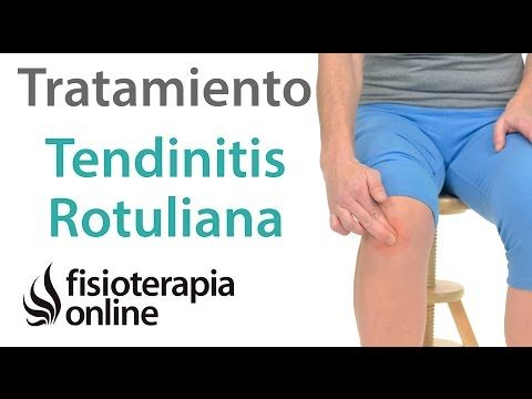 tendinitis rodilla tratamiento fisioterapeutico