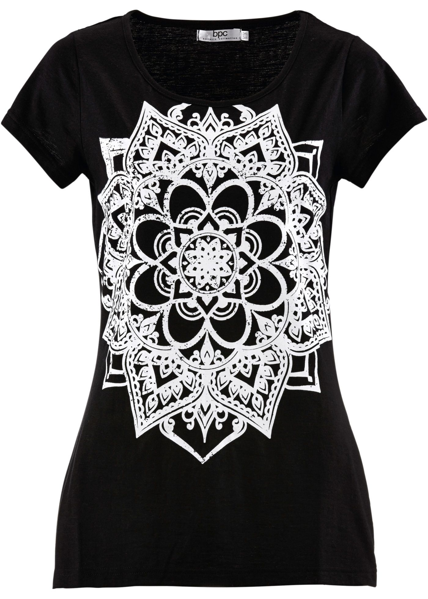 Flammgarn-Shirt mit kurzen Ärmeln