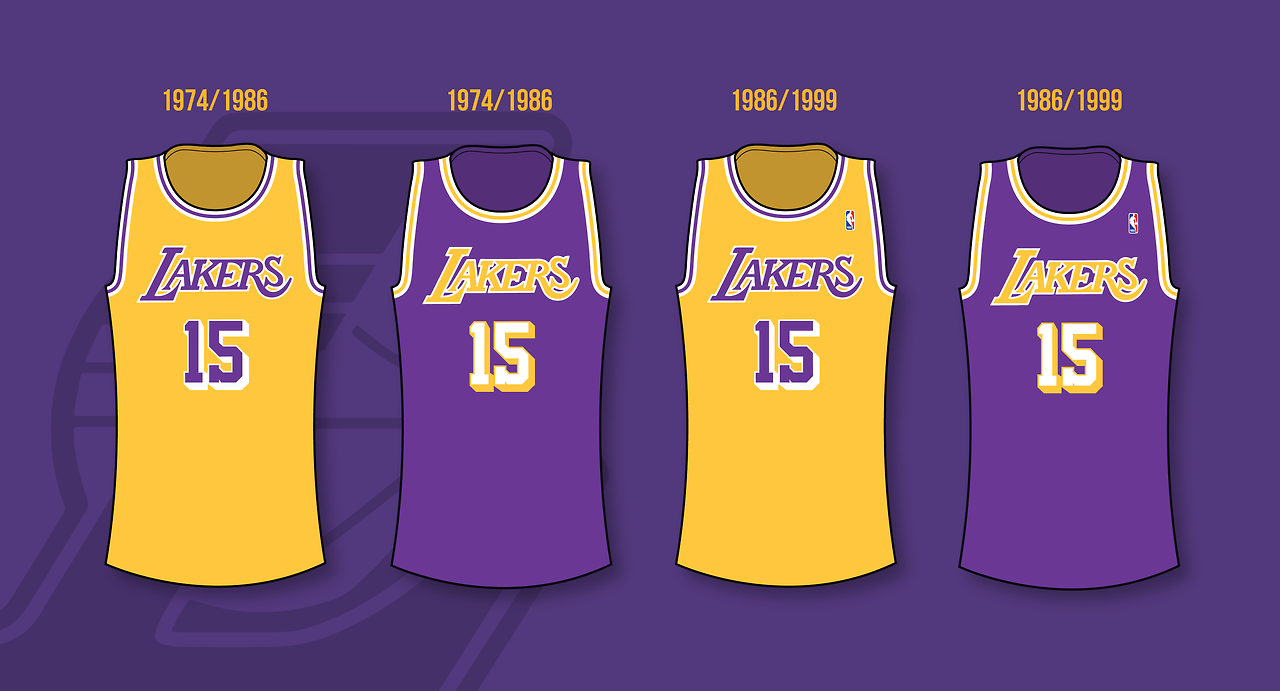 Minneapolis Lakers 1947 1960 Los Angeles Lakers 1960 2002 Los Angeles Lakers Lakers Nba Jersey