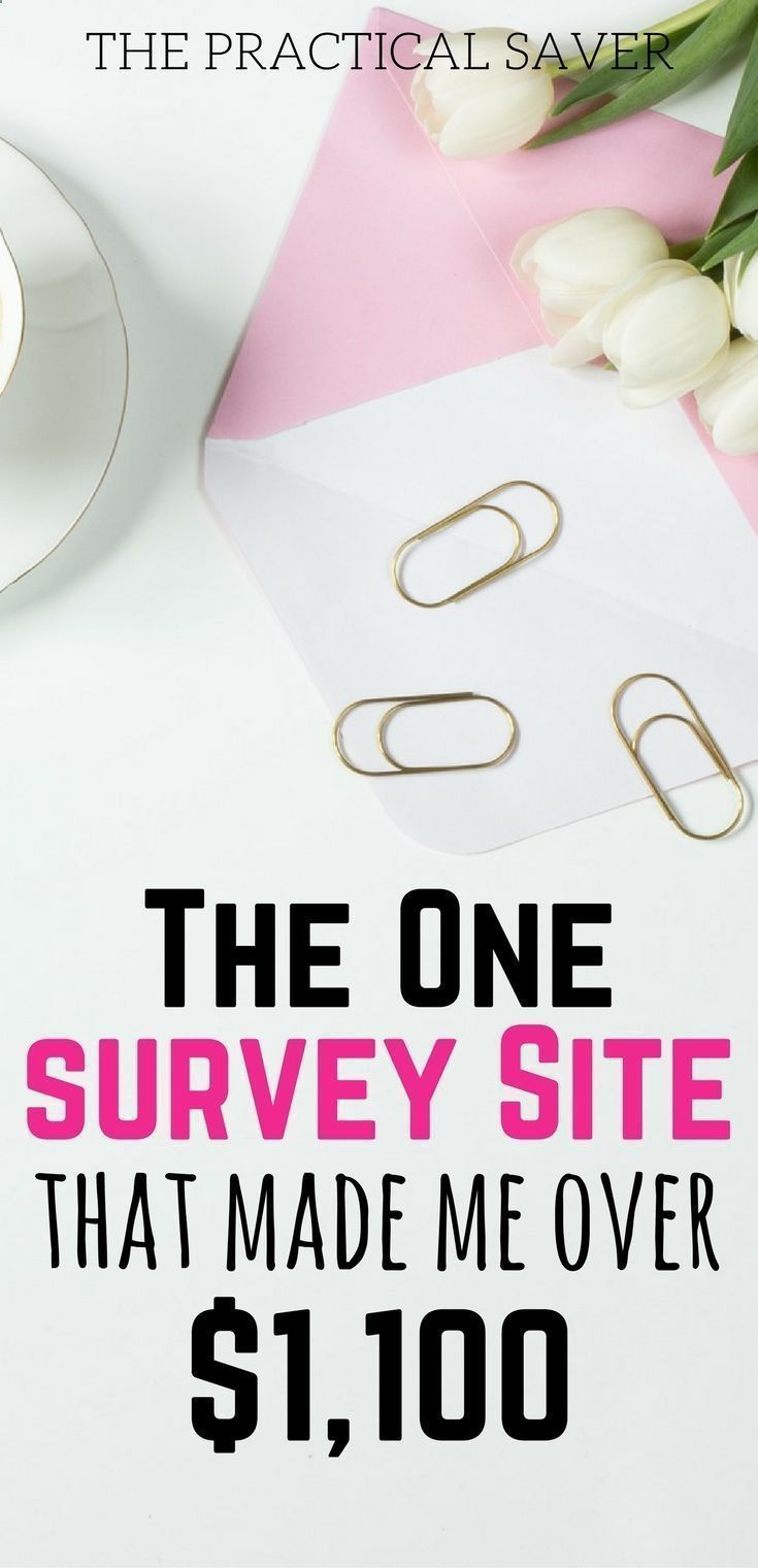 survey sites that pay l make money online l make money fast l side ...