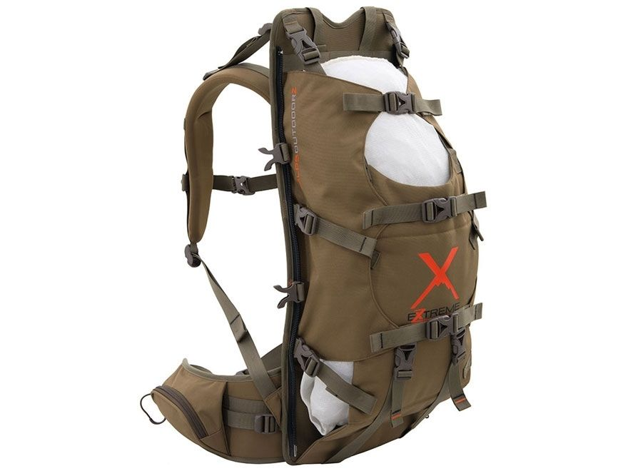 Commander X by ALPS Outdoorz -- Dual aluminum stays with channeled ...