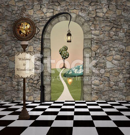 Wonderland Series Welcome To Wonderland Alice In Wonderland Illustrations Photography Backdrop Alice In Wonderland Wedding