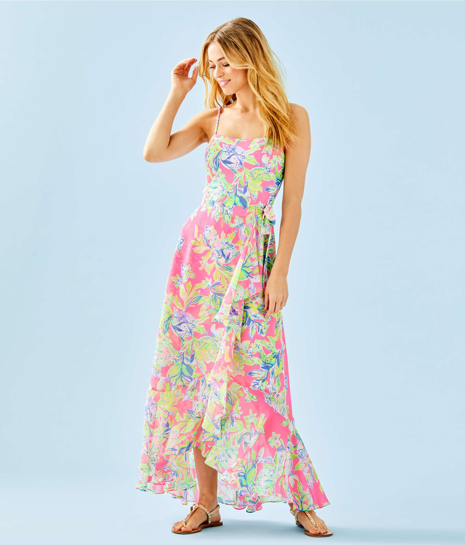 358164db384f69 Anni Maxi Dress, Multi Squeeze The Day, large Zoom | Lilly in 2019 ...