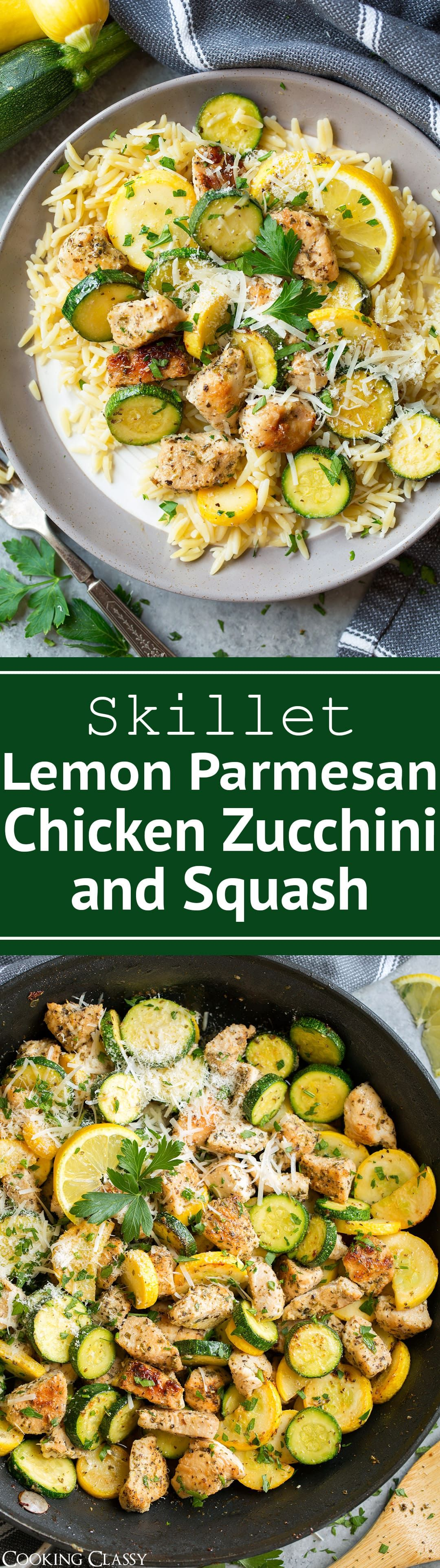 Lemon Parmesan Chicken With Zucchini And Squash The Perfect Flavorful One Pan Dinner A Recipe Everyone In The Whol Chicken Recipes Recipes Healthy Recipes