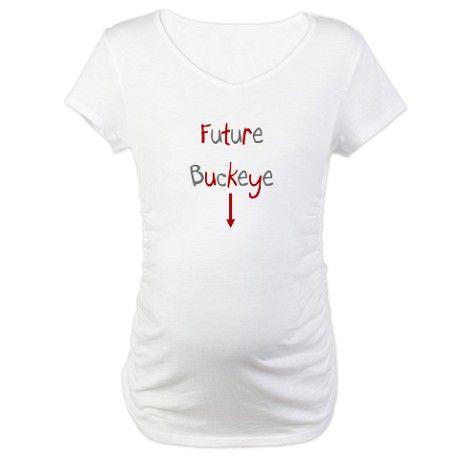 e431d5ed73e61 Future Buckeye Ohio State Maternity T-Shirt