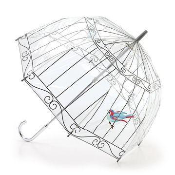 Lulu Guinness by Fulton Birdcage Desinger Umbrella | eBay