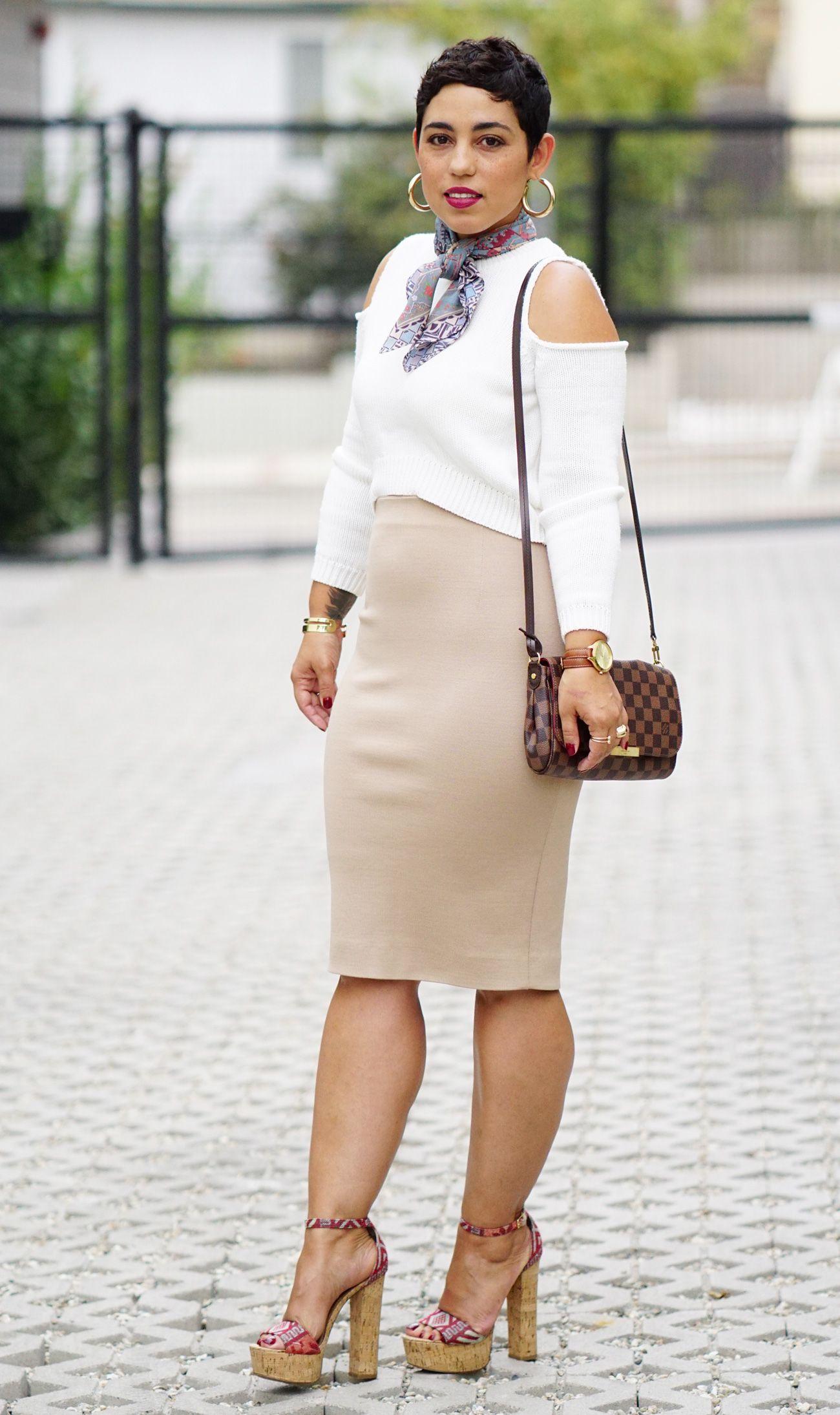 DIY HIGH WAIST KNIT SKIRT   Fashion, Style, How to make skirt