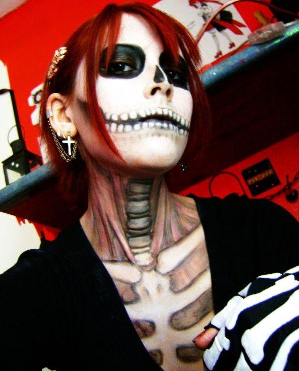 2014 halloween body paint #2014 #Halloween Halloween Pinterest - cool halloween ideas