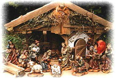 Krippen und Krippenfiguren - Tradition, Woodcarving-Shop.de