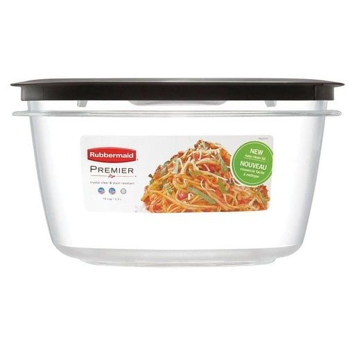 Rubbermaid 1937693 Premier Food Storage Container 14 cups 2 Piece