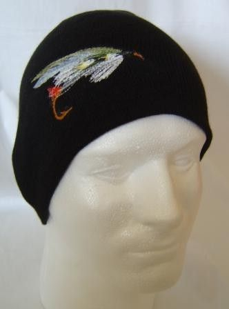 Supervisor Fishing Fly Lure Beanie Skullcap Hat Fisherman Hunter ... 41ada5e84d7e
