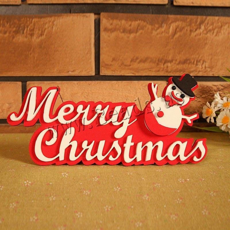 Fieltro Decoración Colgando Letra Palabra Feliz Navidad Joyas De Navidad Mult árboles De Navidad Decorados Muñeco De Nieve De Navidad Palabras De Felicidad