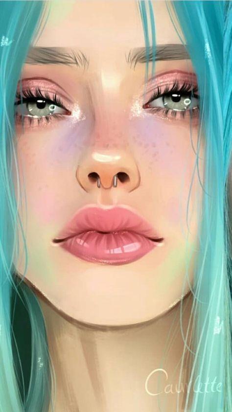 19 ideas digital art realistic illustrations