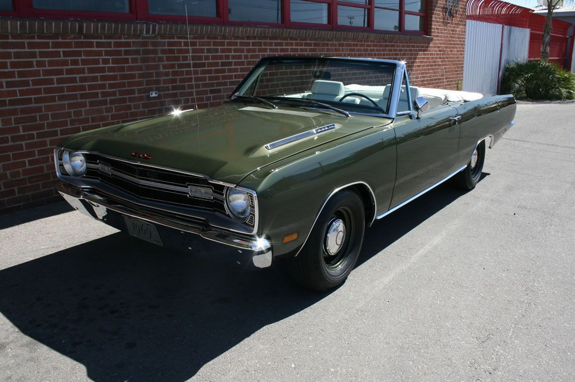 1969 Dart Gts 383 4bbl 4 Speed There Were Only 73 Dart Gts 383