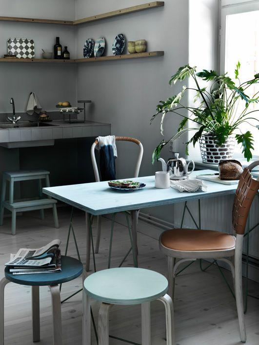 Hocker als dritten Stuhl! | Küche | Pinterest | Hocker, Stuhl und Küche