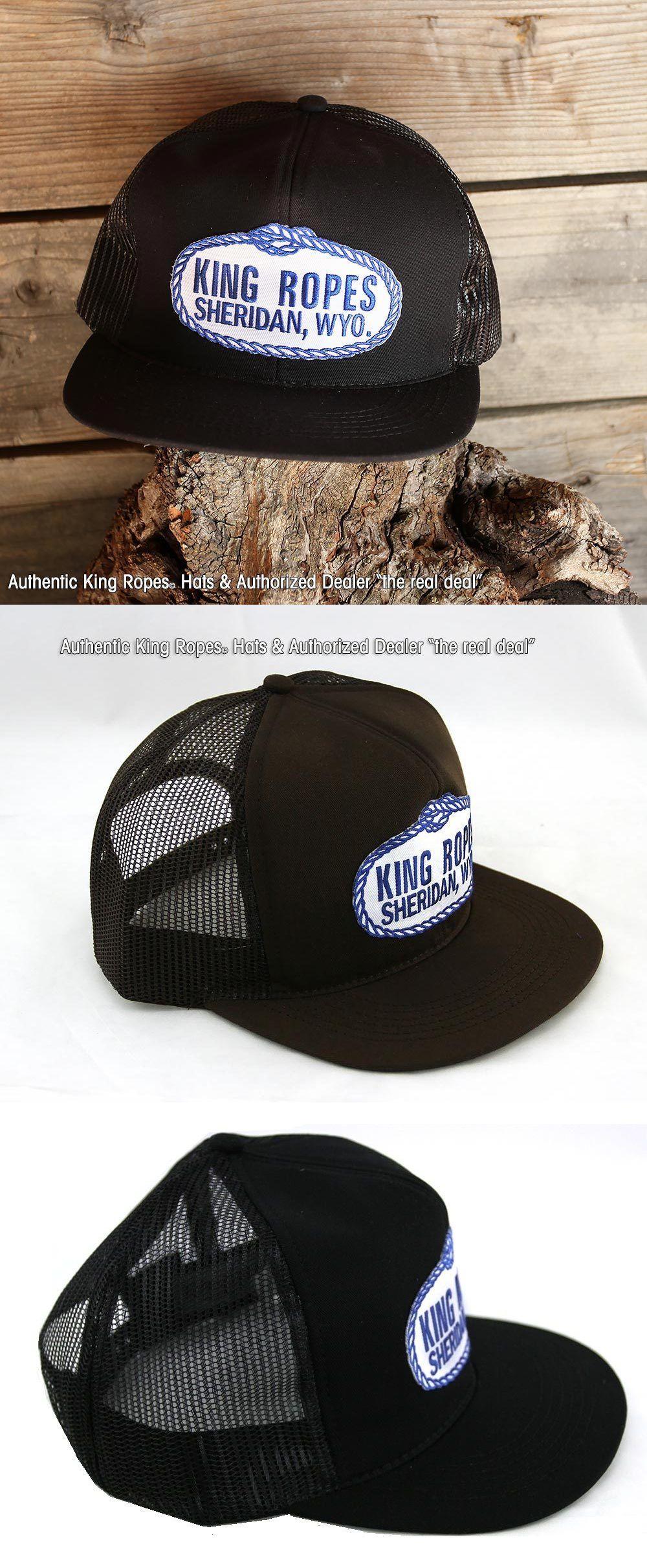 Riding Helmets 47269 King Ropes Rope Mesh Trucker Hat Black And Black Brand New Authorized Dealer Buy It Now Mesh Trucker Hat Riding Helmets Trucker Hat