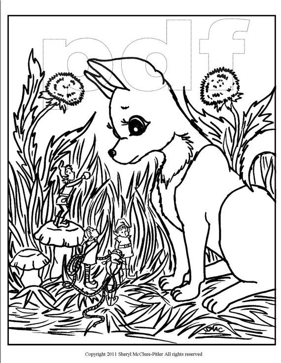 Fantasy Coloring Page Printable Intricate Fairy By Smacsplacetobe 2 25 Horse Coloring Pages Puppy Coloring Pages Coloring Pages