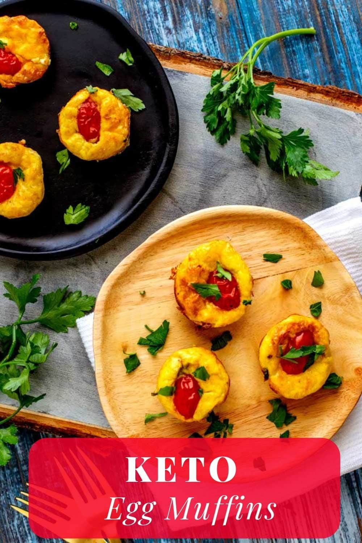 Keto Egg Muffins - Low Carb & Gluten Free #ketoegg