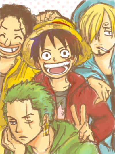 .One Piece: the boys from the East Blue