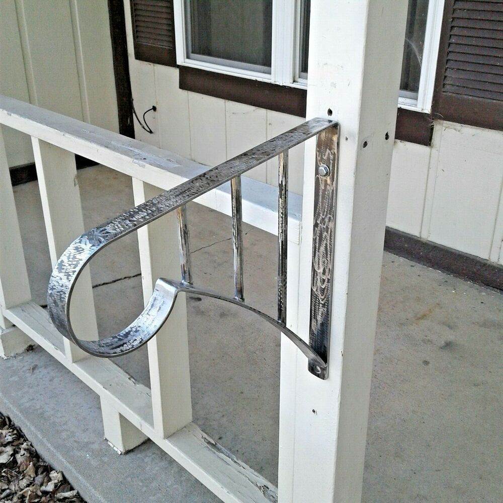 New Wrought Iron Handrail 12 Step Grab Rail Stair Porch