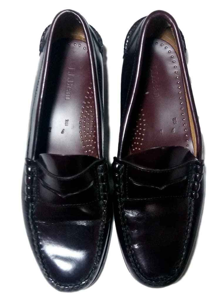 2f1e61cbce6 LL Bean Men s Penny Loafers Size 9 M(D) Cordovan Good Condition  llbean   Loafers  ebay