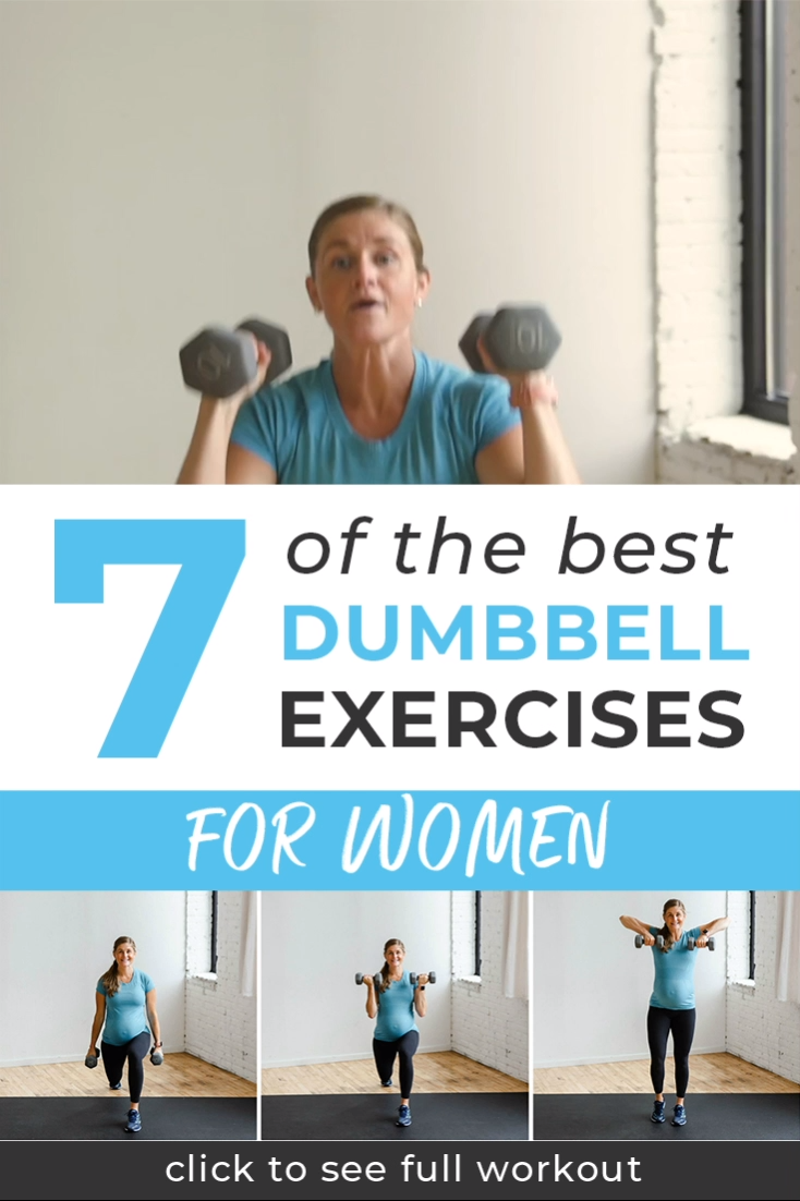 The 7 Best Dumbbell Exercises For Women