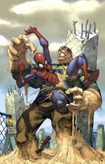 Spiderman VS Sandman | Sandman (Marvel) | Pinterest ...