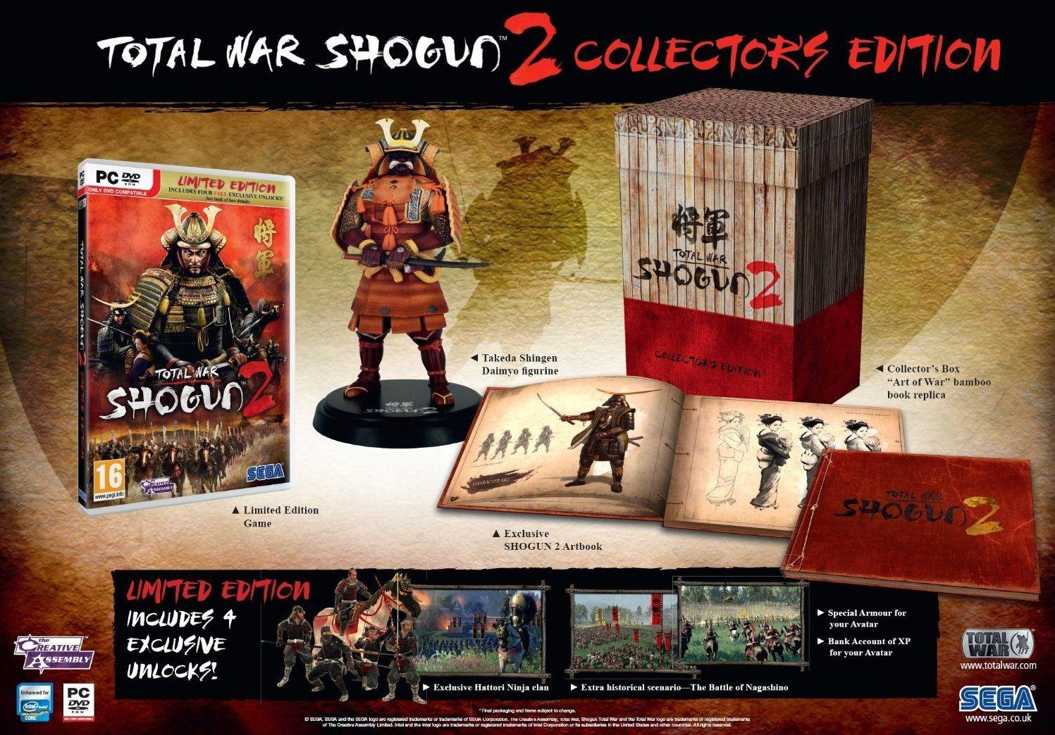 Shogun 2 Collectors Edition Screen 31 Empire Total War Total
