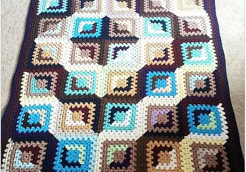 [Free Pattern] What A Spectacular Granny Afghan! I'm Impressed!