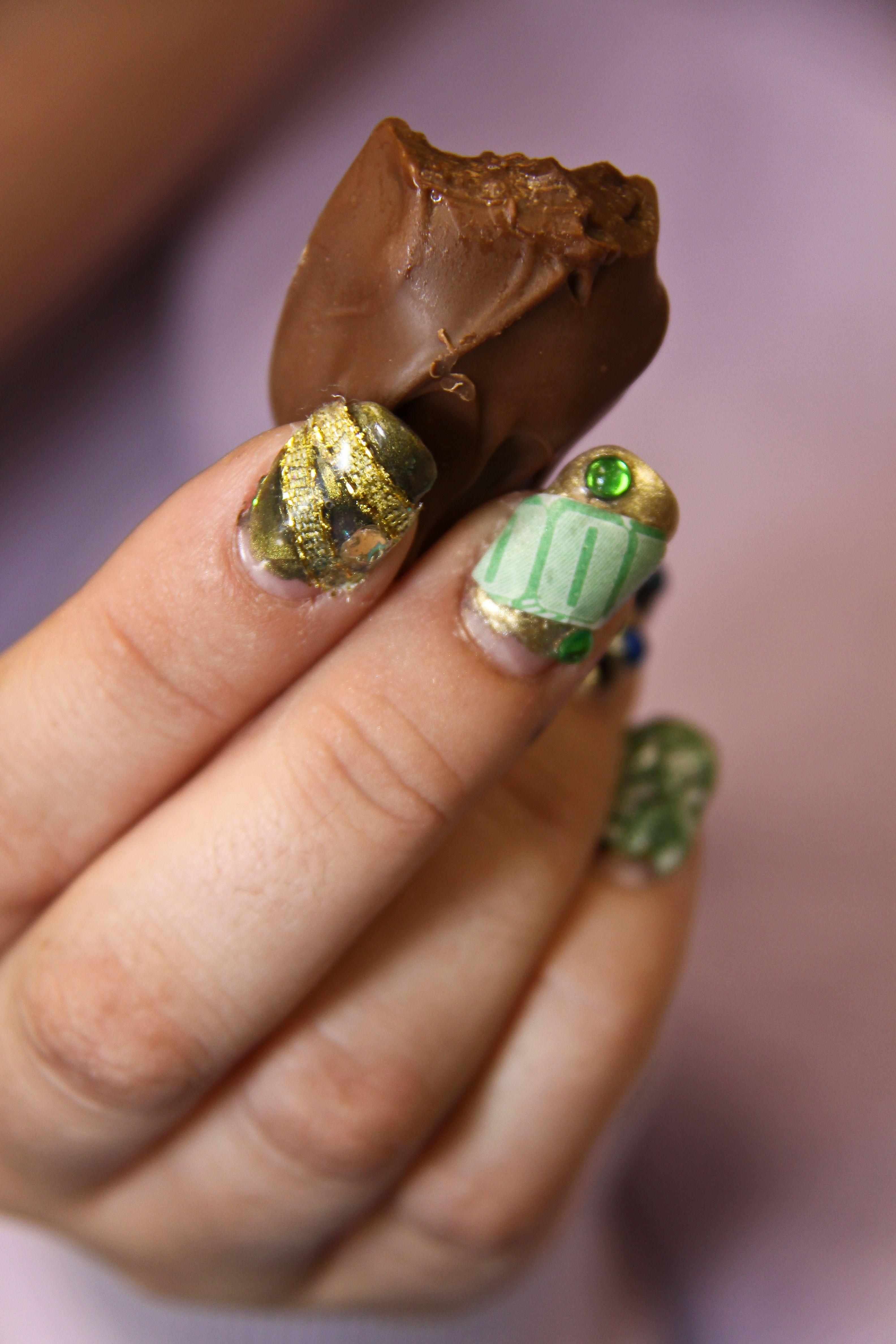 Food-inspired nail art  Seven Deadly Sins Fashion Show  Manhattan, KS
