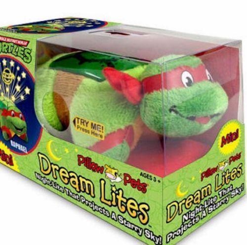 New Raphael Teenage Mutant Ninja Turtle Mini Dream Lites Pillow Pets Night Light Ninja Turtles Teenage Mutant Ninja Mutant Ninja Turtles