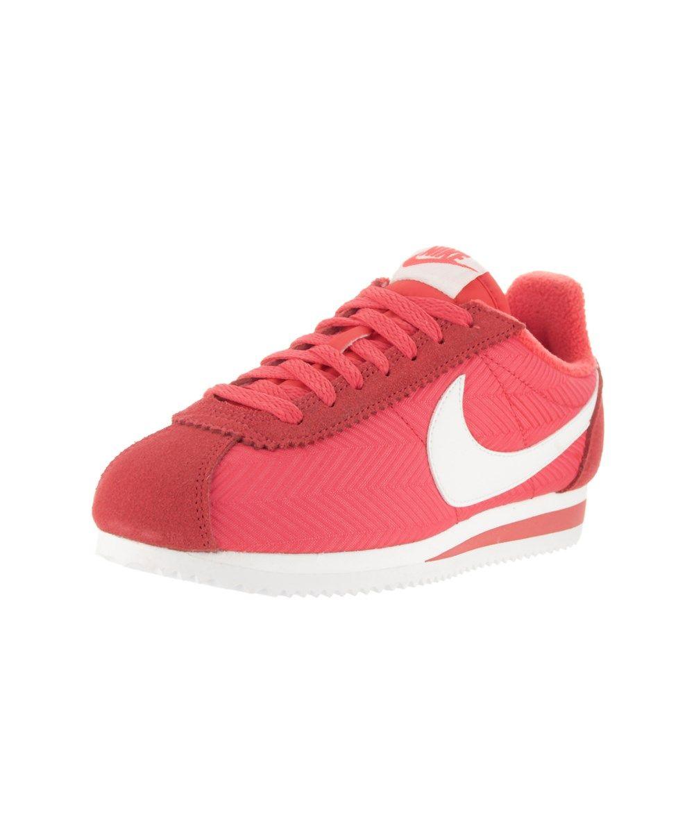 NIKE Nike Women's Classic Cortez Txt Casual Shoe. #nike #shoes #