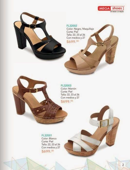 MegaShoes Flexi zapatos de mujer y hombre PV 2015
