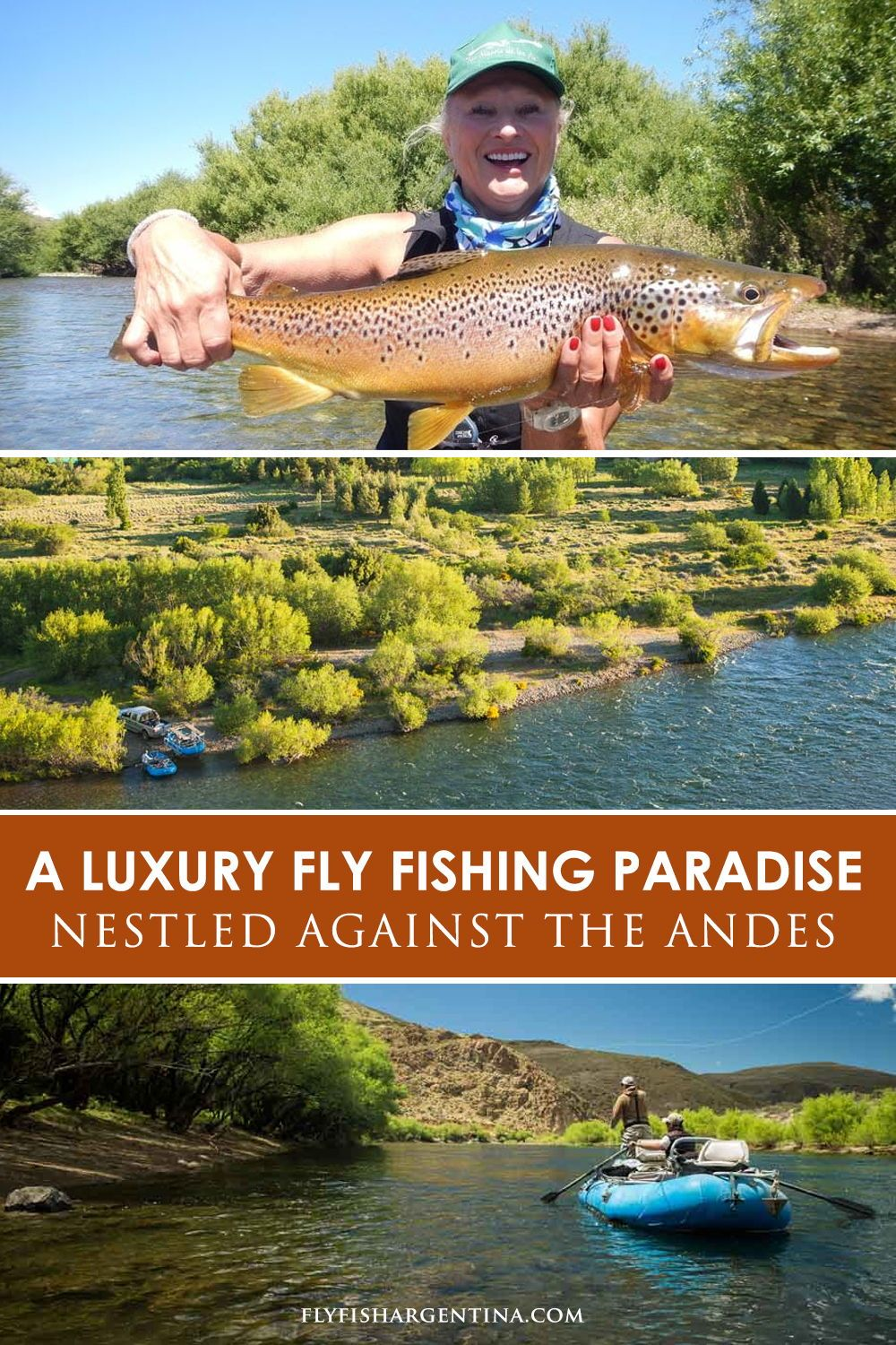Fly Fishing Luxury Vacation Destination In Patagonia Fly Fishing Patagonia Travel Fishing Vacation