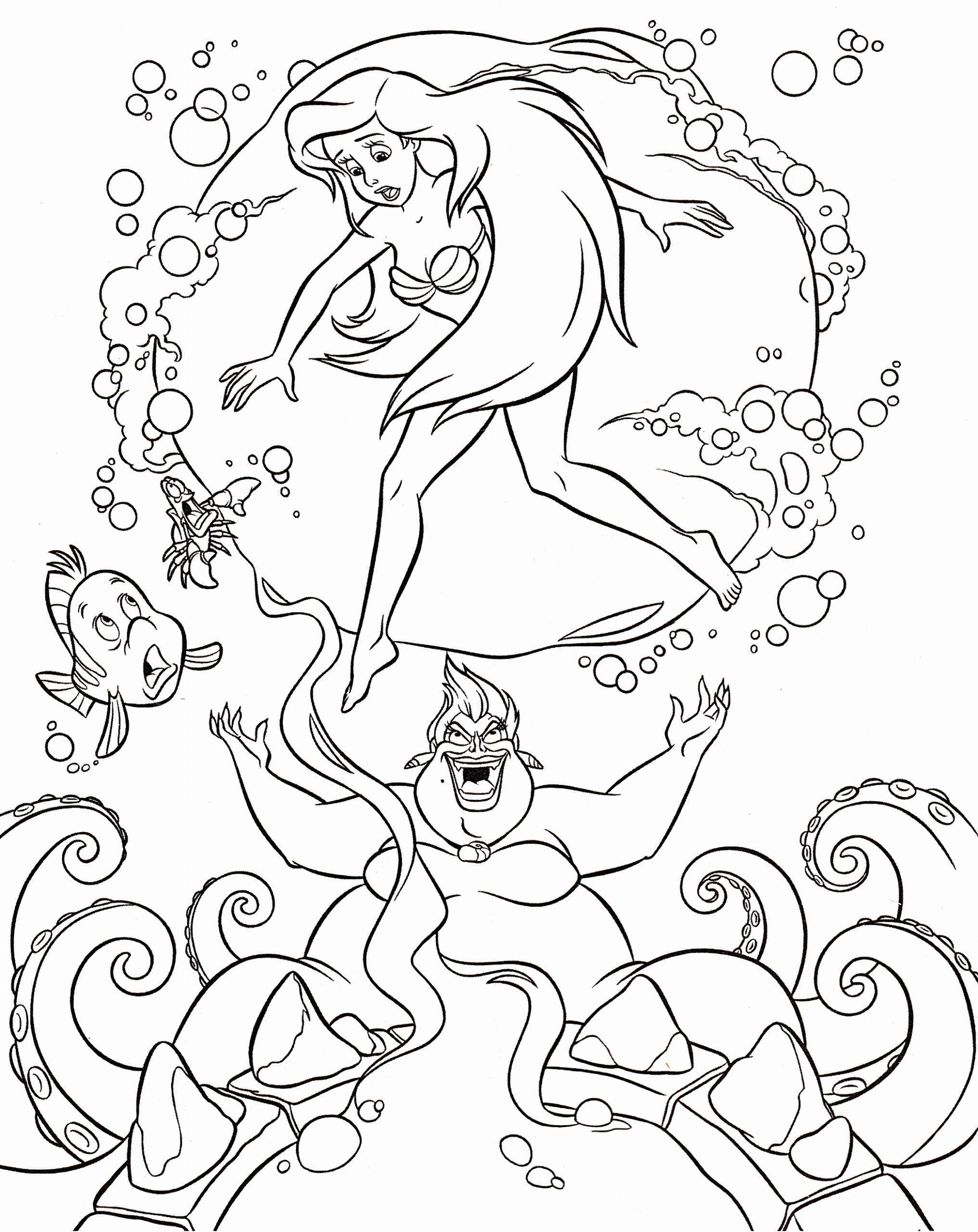 Disney Princess Ariel Coloring Pages Luxury Colouring Pages Ariel Coloring Pages Disney Coloring Pages Disney Princess Coloring Pages