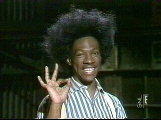 Eddie Murphy as Buckwheat on SNL